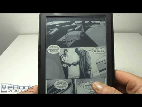 Onyx Boox T68 Comixology Android App Review