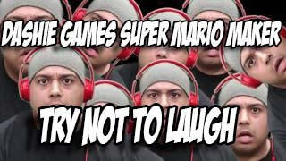 Try Not To Laugh Or Grin Impossible Dashie Games - Super Mario Maker