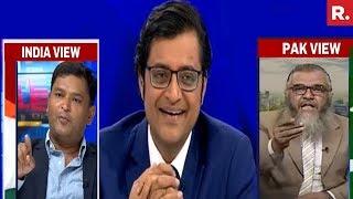 Major Gaurav Arya Vs Pakistan's Col Shafqat Saeed | The Debate With Arnab Goswami