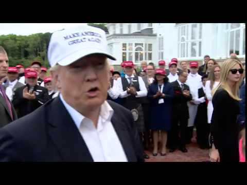 Donald Trump on EU  'Brexit is a good thing'   BBC News