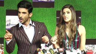 ANGRY Sushant Singh Rajput FIGHTS With Reporter In Public Asking If Raabta Is Copy Of Magadheera