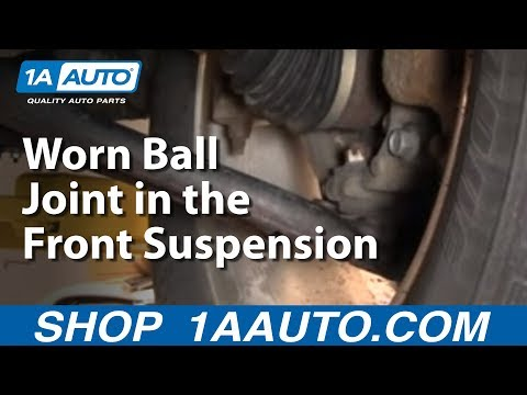 How To Diagnose or Detect a Loose or Worn Ball Joint in the Front Suspension
