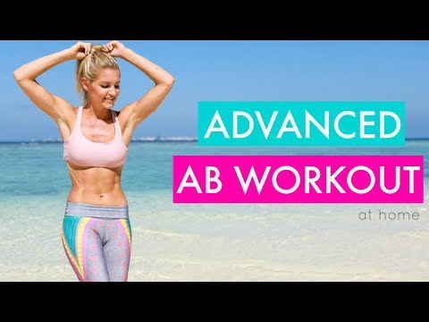 Advanced Abs - 10 MINUTE SIX PACK WORKOUT   Rebecca Louise