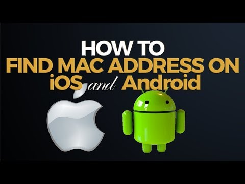 How to Find MAC Address on iPad or Android Device