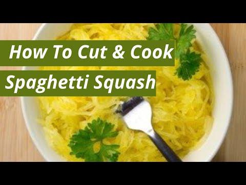 How To Cut And Prepare Spaghetti Squash