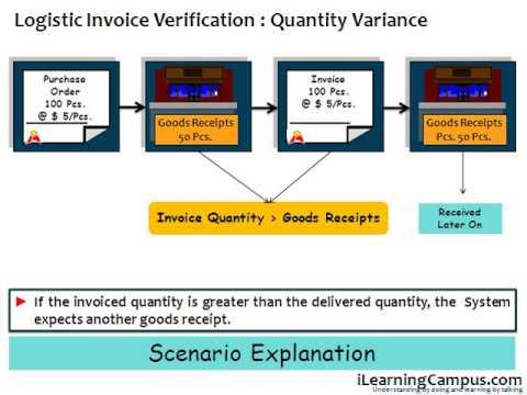 Sap Material Management Mm Invoice Verification Gr Ir Account Mainten