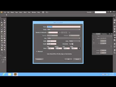 How to Change Background Color in Adobe Illustrator CS6