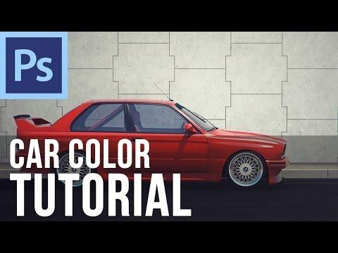 Adobe Photoshop CS6 - Change Car Color