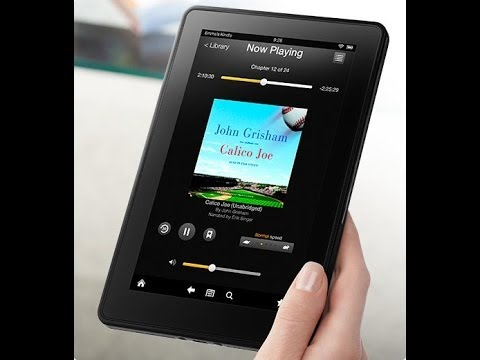 Kindle Fire Immersion Reading