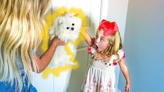 WE FINALLY GOT OUR PUPPY BACK!!! (SURPRISING EVERLEIGH AFTER SCHOOL WITH HIM)