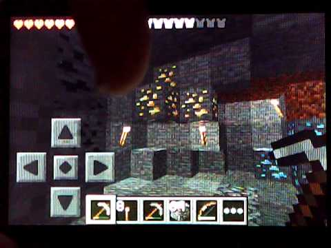 Finding Gold and Diamonds: Minecraft Pocket Edition