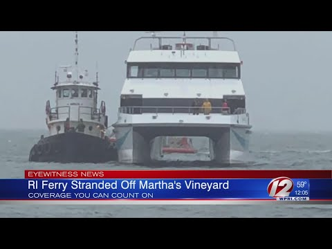 RI Fast Ferry Back Up and Running