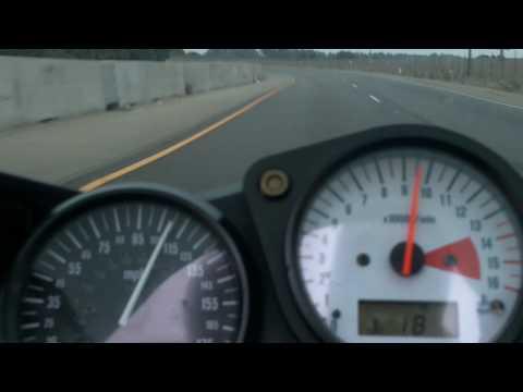 2006 GSXR 750 top speed cops pull over - Suzuki Gsxr 600 Top Speed 2007