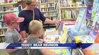 Boy is reunited with his lost teddy bear!