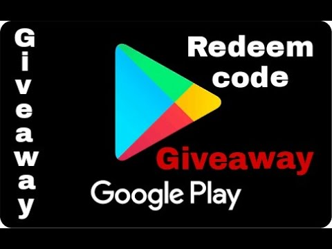 Play store redeem code {giveaway} 2017