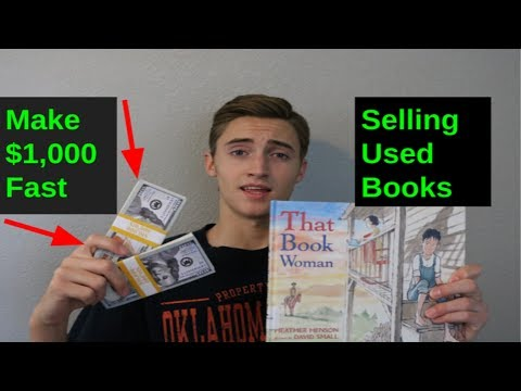 How To Make $1,000 FAST Selling Used Books On Amazon FBA