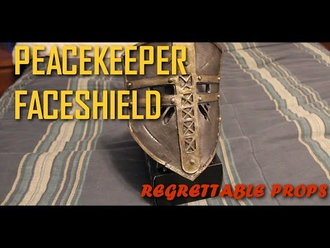 HOW TO: For Honor Costume ( Peacekeeper Faceshield)