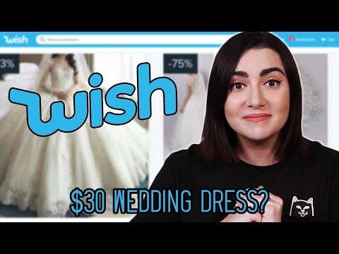 Xxx Mp4 I Tried Wedding Dresses From Wish 3gp Sex