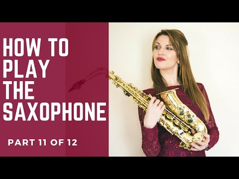 11/12 READING MUSIC How to play saxophone - BEST BEGINNERS GUIDE 🎶 lesson/tutorial