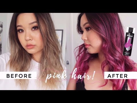 BLONDE TO PINK • Arctic Fox Hair Dye Review