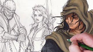 Character Design: Blind Medieval Archer