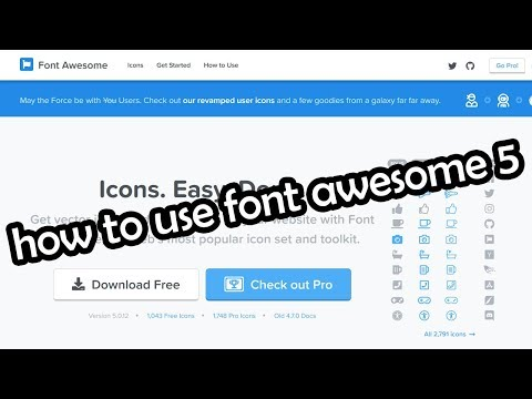 How to Use Font Awesome 5 icons Offline in HTML (Bangla Tutorial) || FontAwesome Tutorial (Download)