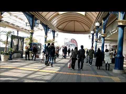 Approach from Tokyo Station to Maihama Station (Tokyo Disney Resort)
