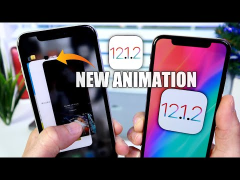 iOS 12.1.2 Exclusive NEW App Switcher Animation in China