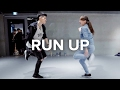 Run Up Major Lazer Feat PARTYNEXTDOOR Nicki Minaj Bongyoung Park Choreography mp3
