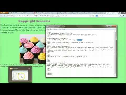 WEB: U3S3 - Copyright Website Assignment