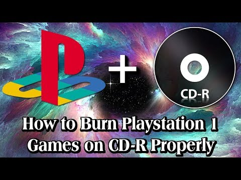 How to Burn Playstation 1 Games on CD-Rs Properly [2018]