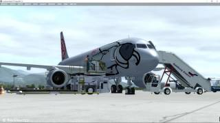 FSLabs A320-X Advanced: LVO Fully Automatic Approach EGLL