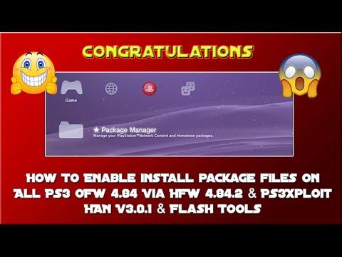 UPDATE 4 84 2 HFW - Restores PS3Xploit Flasher/Tools & PS3Xploit HAN