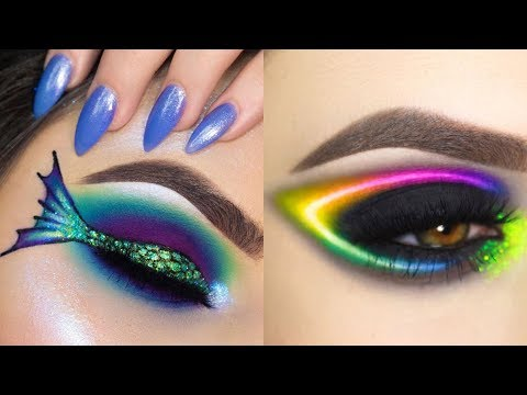 Amazingly Eye Art Makeup 💄 Done!!! 😍