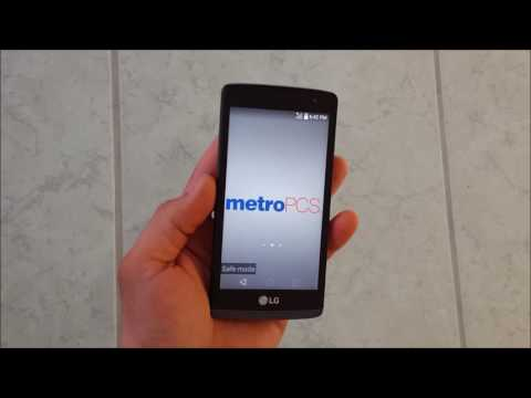 How to get LG Leon IN & OUT of safe mode