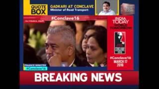 Rajdeep Sardesai Asks Arun Jaitley About Vijay Mallya At India Today Conclave