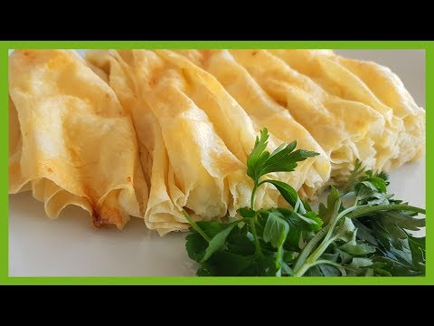 How to Make Cheese Filled Filo Pastry | Easy Phyllo Ricotta Pastry Recipe