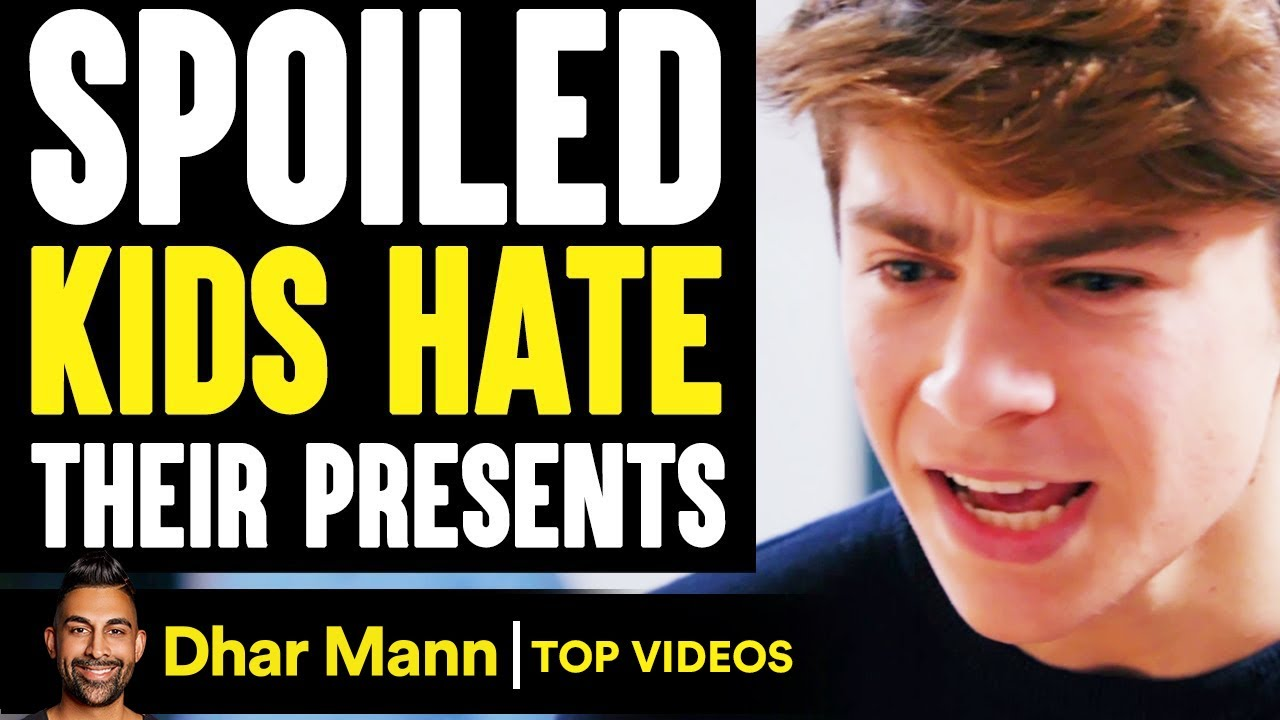 SPOILED KIDS Hate Their PRESENTS, They Instantly Regret It | Dhar Mann