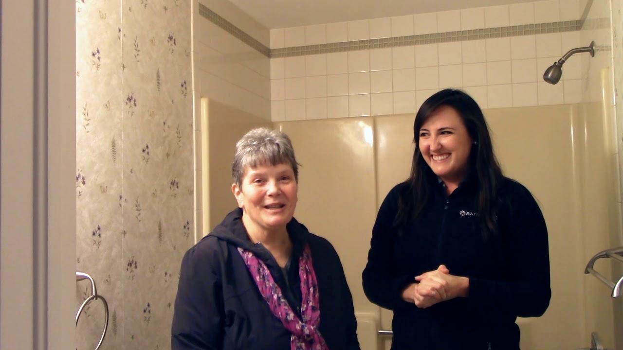 BathWraps: Bathroom Makeover in Glastonbury Connecticut