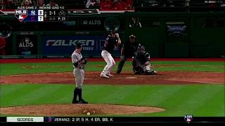Jay Bruce Game-Tying Solo Homerun vs Yankees | Indians vs Yankees Game 2 ALDS