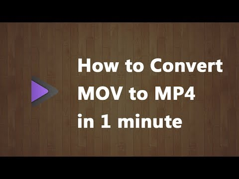MOV to MP4 Converter | How to Convert MOV to MP4 in 1 minute
