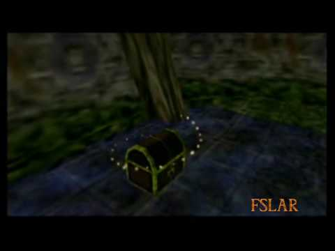 Legend of Zelda: Majora's Mask - Woodfall Temple - Map and Compass