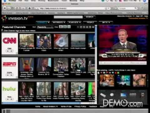 Very Cool New Internet TV Site - WWW.INVISION.TV