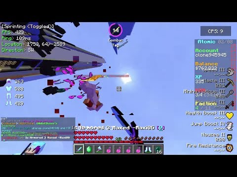 Tons of GOD SET KILLS During Reset Pvp! Cosmic PvP Ep 2 (Factions) Map 5 [Void Planet]