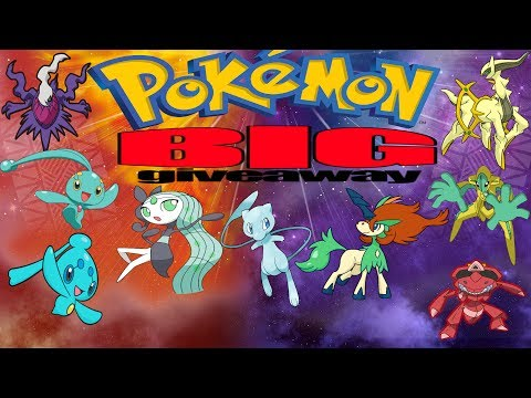 Epic Shiny Event  Pokemon Sun and Moon Giveaway including Arceus Meloetta Keldeo Genesect Deoxys
