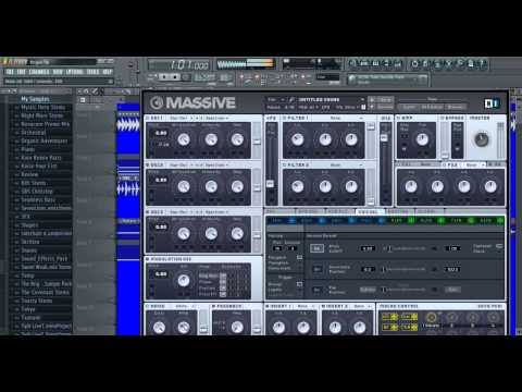Rogue and Pegboard Nerds Laser Bass Tutorial NI Massive (Free Patch Download in Description)