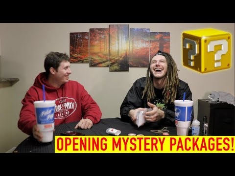OPENING MYSTERY PACKAGES!
