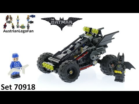 Lego Batman Movie 70918 The Bat-Dune Buggy - Lego Speed Build Review
