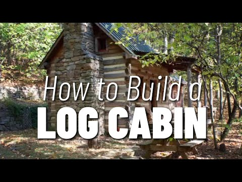 How to Build a Log Cabin... start with a good design