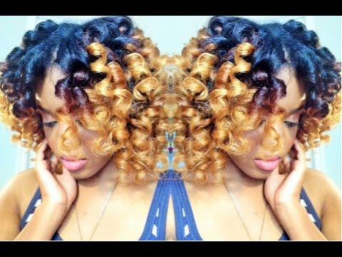 Natural Hair | HEATLESS CURLS w/ Curlformers